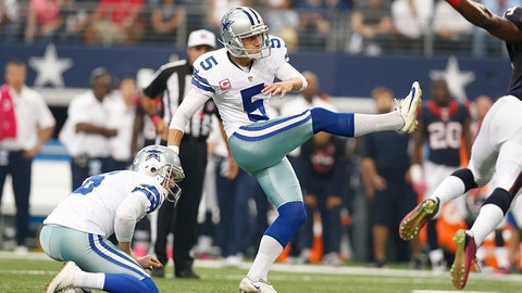 Kicker: Dan Bailey