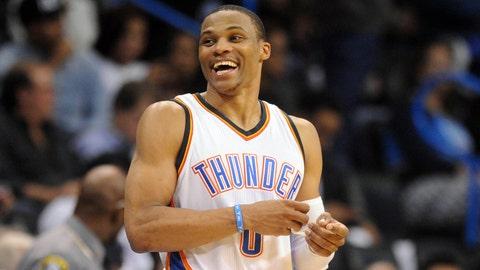 19. Russell Westbrook, PG Oklahoma City Thunder: $15,719,062
