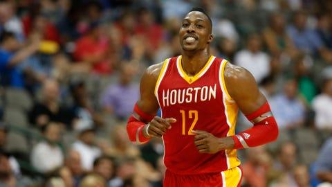 5. Dwight Howard, C Houston Rockets: $21,436,271