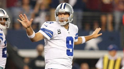 Tony Romo: 4 playoff games, 1 win, 3 losses