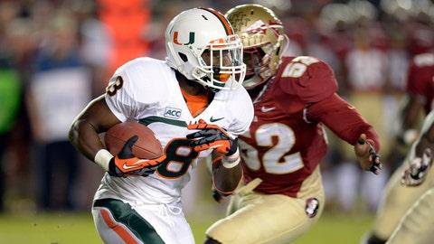 Florida State at Miami, Nov. 15