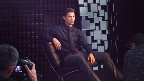 Cristiano Ronaldo - Wearer of Suits