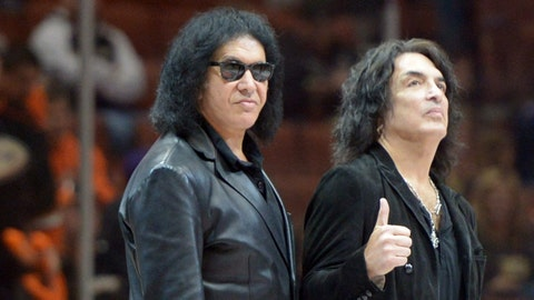 Gene Simmons and Paul Stanley - Owner, Los Angeles Kiss