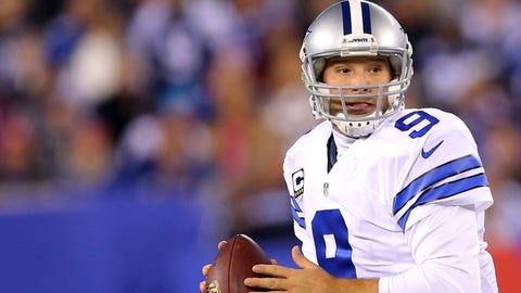 "LOVE: Romo throws a lot of interceptions, right? Well, that's not completely accurate. Romo has thrown 110 interceptions in his career, but that's still fewer than other ""clutch"" quarterbacks like Peyton Manning (234), Drew Brees (194), John Elway (226), Dan Marino (252), Tom Brady (143) and Joe Montana (139)."