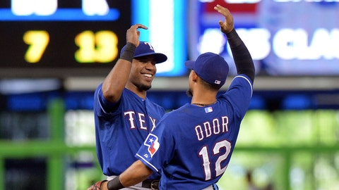 On the eleventh day of Christmas the Rangers need: The middle infielders to shine.