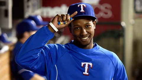 On the fourth day of Christmas the Rangers need: Jurickson Profar to be healthy.