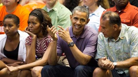 Barack Obama - Georgetown Hoyas