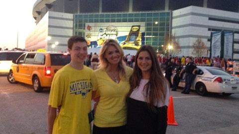 Kate Upton - Michigan Wolverines