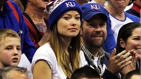 Jason Sudeikis & Olivia Wilde - Kansas Jayhawks