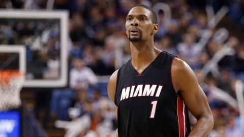 Chris Bosh, Miami Heat. Salary: $20,644,400