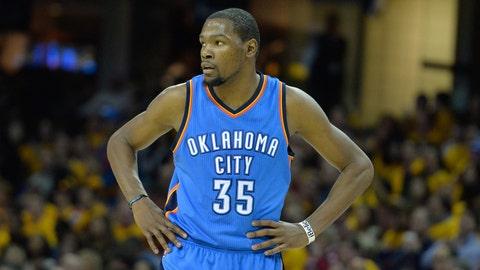 Kevin Durant, Oklahoma City Thunder. Salary: $18,995,624
