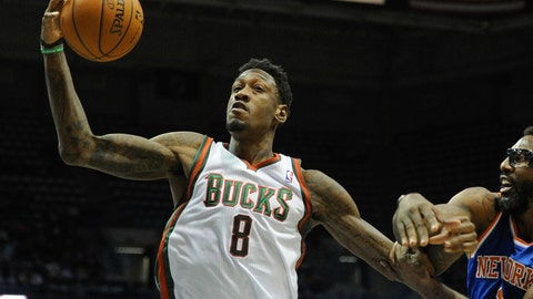 Larry Sanders. Stats: 7.3 PPG, 6.1 RPG, 1.4 BPG, 50.0 FG%, 50.0 FT% in 27 games