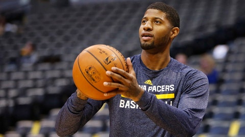 Paul George, Indiana Pacers. Salary: $15,937,290