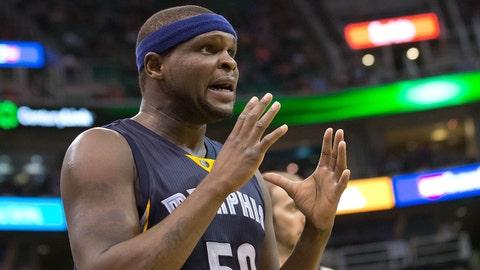 Zach Randolph, Memphis Grizzlies. Salary: $16,500,000