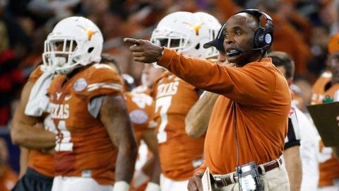 Texas: 36-28 (23-21). Bowl record: 2-2