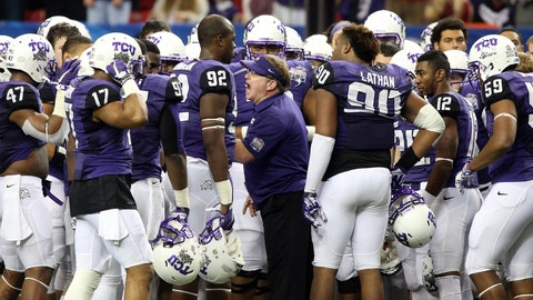 TCU: 47-17 (29-13) Titles: 3 (two in Mountain West). Bowl record: 3-1