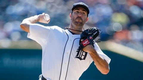 Justin Verlander, P, Tigers (Lakeland, Fla.)