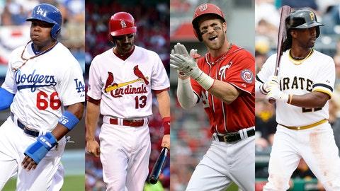 NLDS: Dodgers over Cardinals, Nationals over Pirates