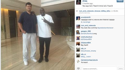 Yao Ming vs. Shaq