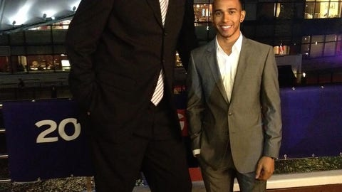 Yao Ming vs. Lewis Hamilton