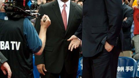 Yao Ming vs. Mark Jackson