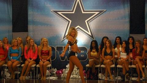 Behind the Scenes at Dallas Cowboys Cheerleaders Auditions