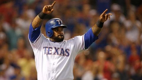 13. Prince Fielder, DH, Texas Rangers (.343, 14 HR, 54 RBI, AL-leading 114 H)