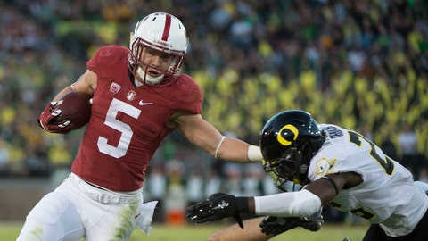 STANFORD at OREGON, Nov. 12