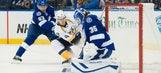 Preds' Forsberg returns from World Junior success, faces NHL grind