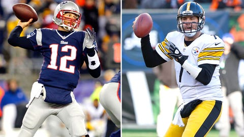 The Patriots and Steelers will launch the 2015 season
