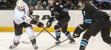 Sharks snap Ducks' 10-game winning streak