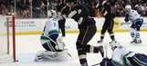 Perry's OT goal lifts Ducks over Canucks