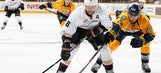 Selanne nets winner as Ducks edge Predators