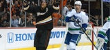 Ducks blast Canucks 9-1 for 8th straight win