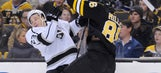 Kings fall short in loss to Bruins