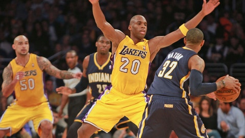Pacers vs. Lakers 01/28