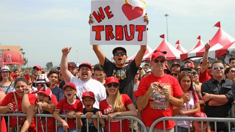 Gallery: Mike Trout on contract extension