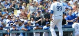 Sloppy start costs Dodgers in home opener loss to Giants