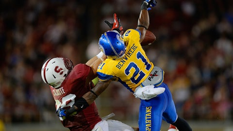 San Jose St. CB Bene Benwikere; Panthers (5th Round, 148th overall)
