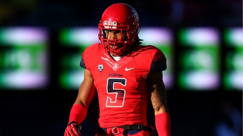 Arizona CB Shaquille Richardson; Steelers (5th Round, 157th overall)