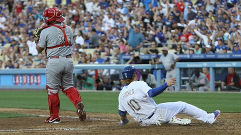 Gallery: Dodgers edge Reds