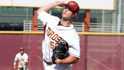 Cal State Dominguez Hills RHP Nick Wagner; Angels (31st Round, 929th overall)