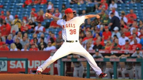Angels win streak snapped