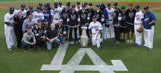 From ice to diamond: Kings hoist Cup at Dodger Stadium