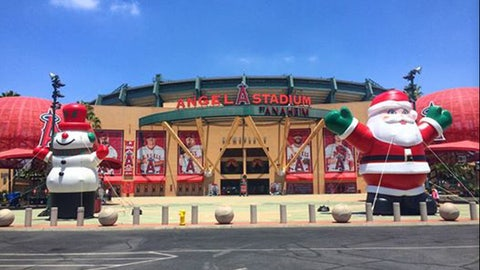 Gallery: #Halfway2Christmas at Angel Stadium