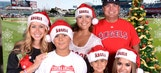 FOX Sports West Girls take over #Halfway2Christmas Cards at the Big A