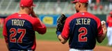 As Jeter passes torch to Trout, the Angels star continues to blossom
