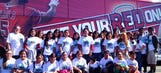 Local Kids Enjoy Day at the Big A, Courtesy of Buses for Baseball Program