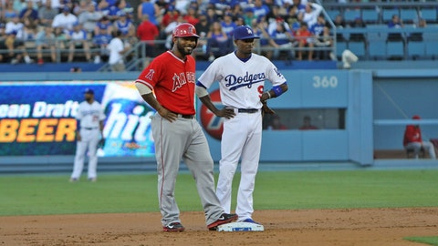 Gallery: Angels beat Dodgers to open Freeway Series