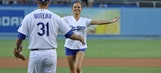 Drew Butera's first-pitch experience with Chrissy Teigen was 'most interesting'